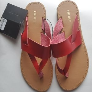 Forever 21 Sandals sz 7